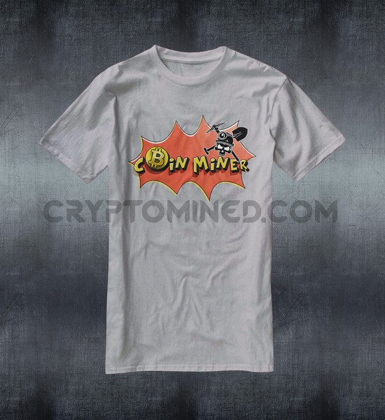 Bitcoin Coin Miner T-Shirt