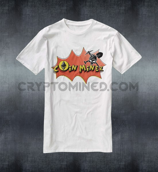 Ethereum Coin Miner T-Shirt