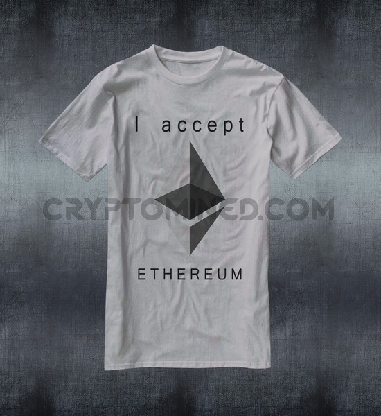 I Accept Ethereum T-Shirt