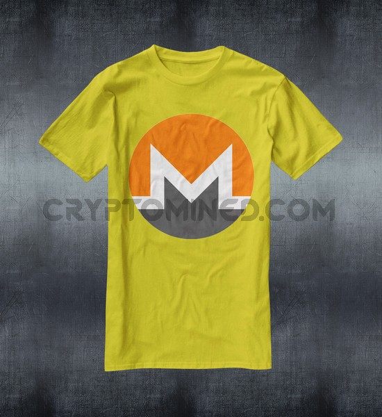 Monero Logo Custom QR Code T-Shirt