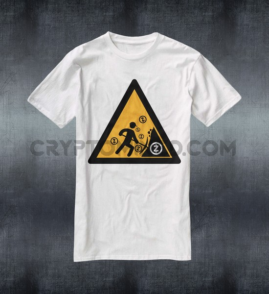 Caution ZCash Miner T-Shirt