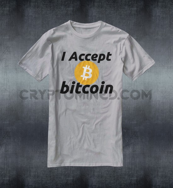 I Accept BTC T-Shirt