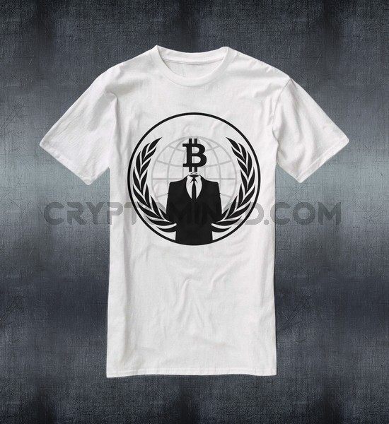 Anonymous Bitcoin T-Shirt