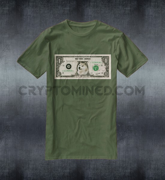 USDoge Bill Custom QR Code T-Shirt