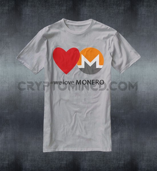 We Love Monero T-Shirt