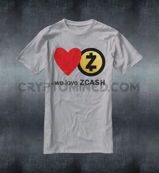 We Love ZCash T-Shirt