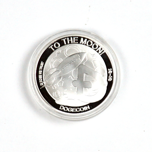Doge To The Moon Silver Coin