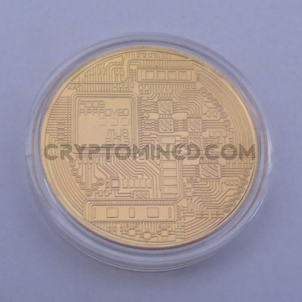 Novelty Gold Bitcoin