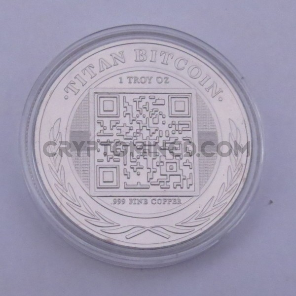 Novelty 1/10th Bitcoin