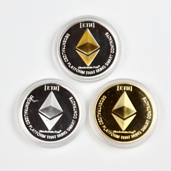 Ethereum Set of 3 Novelty Coins