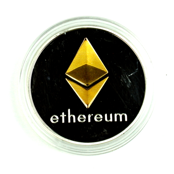 Ethereum Silver/Gold Coin