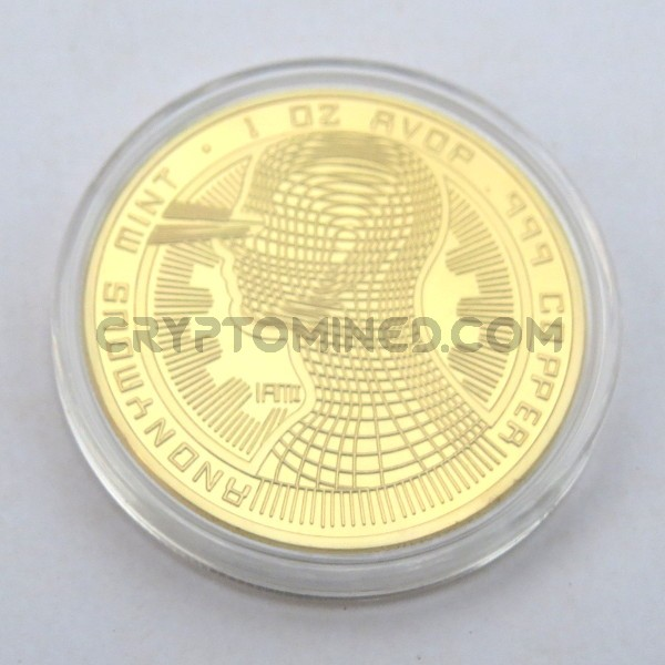 Novelty Gold IAMI Bitcoin