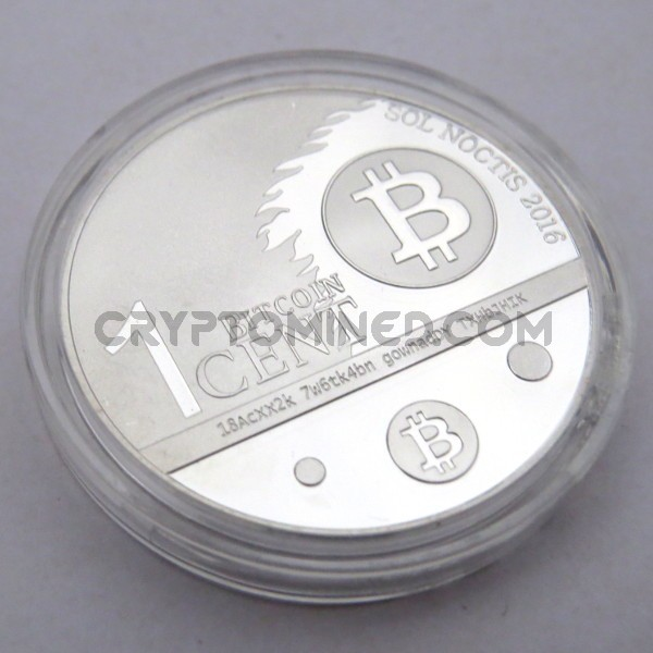 Novelty One Bitcent Bitcoin