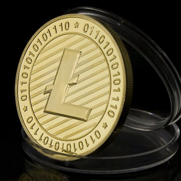 Novelty Gold One Litecoin