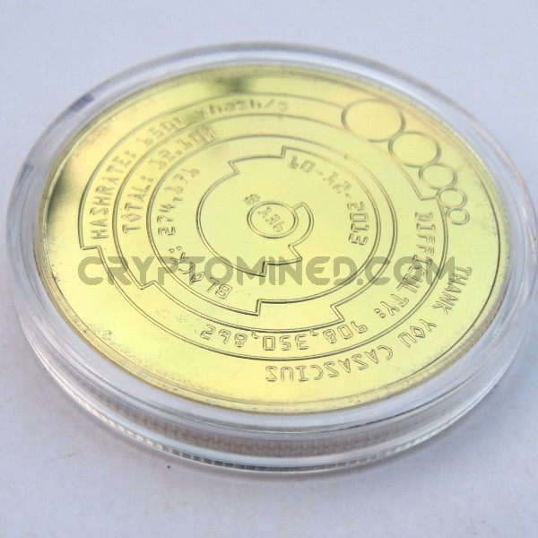 Novelty Casacius Bitcoin