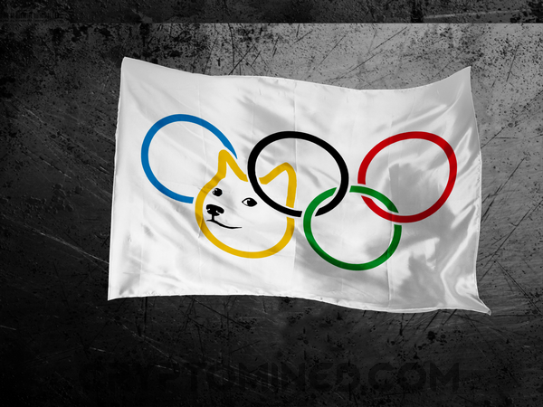 Doge Olympic Flag
