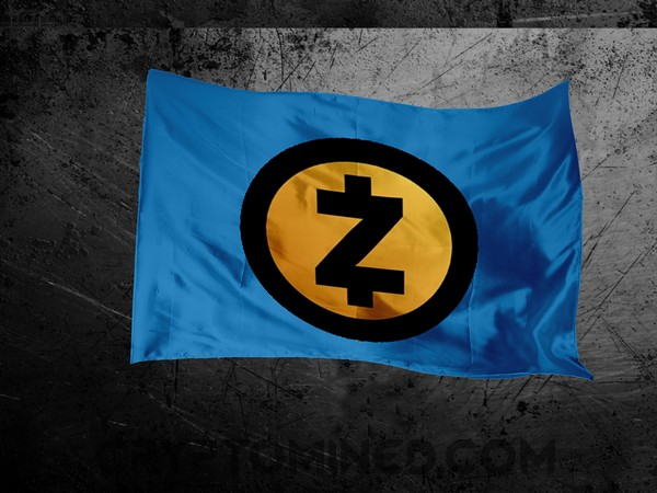 ZCash Gold Blue Flag