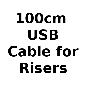 100cm USB Cable for Risers