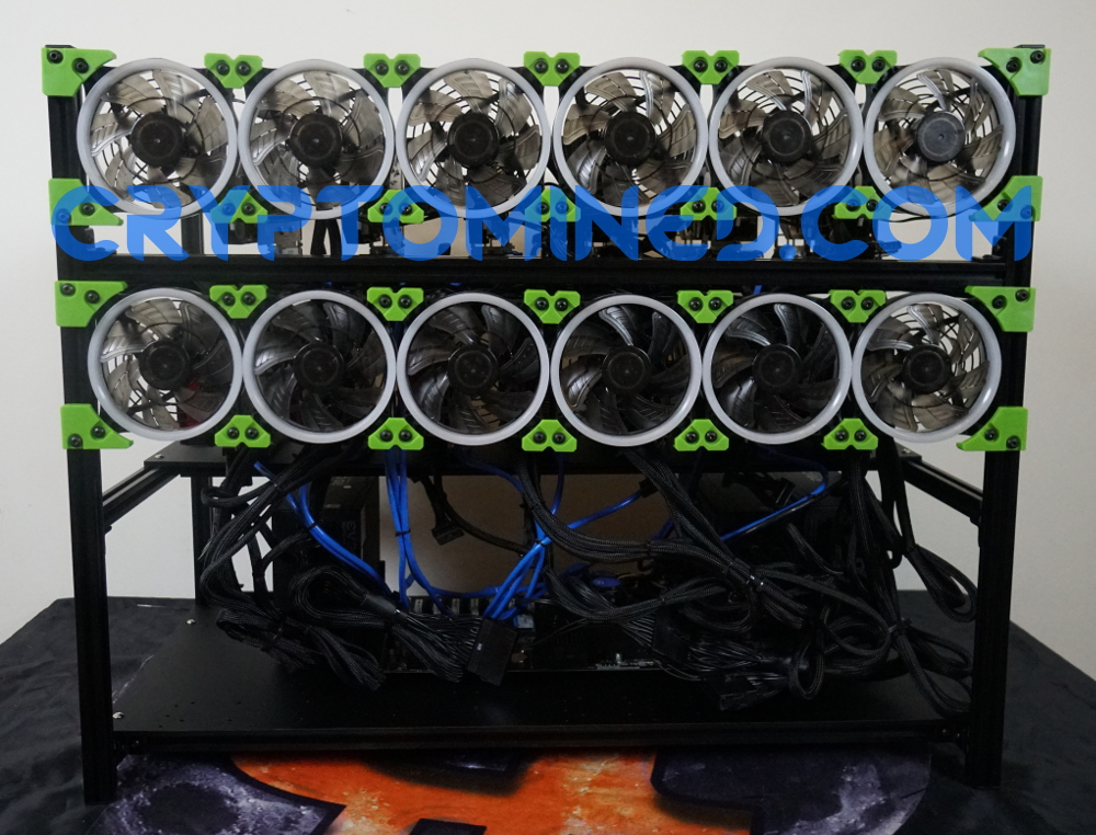 BlackLucky13 13GPU Stackable
